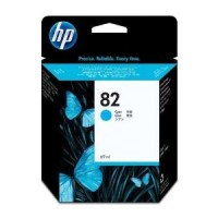 Genuine HP No.82 Ink Cartridge - Cyan