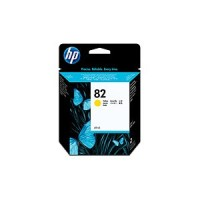 Genuine HP No.82 Ink Cartridge - Yellow