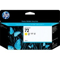 Genuine HP 72 Yellow 130ml Ink Cartridge - C9373A