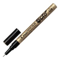 Pilot Super Colour Extra Fine Gold Paint Marker