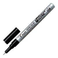 Pilot Super Colour Extra Fine Silver Paint Marker