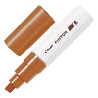 Pilot Pintor Marker Broad Brown 6pk