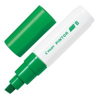Pilot Pintor Marker Broad Light Green 6pk