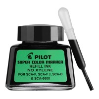 Pilot SCA-RF-B Refill Ink 30Ml Super Colour Black