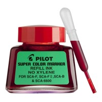 Pilot SCA-RF-R Refill Ink 30Ml Super Colour Red