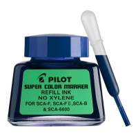 Pilot SCA-RF-L Refill Ink 30Ml Super Colour Blue