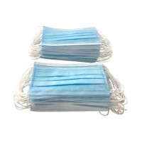 Disposable Face Mask 3 Ply Blue Box of 50