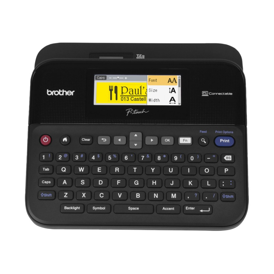 Brother P Touch Ptd600 Pc Conectable Label Printer