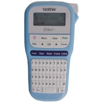 New Brother P-Touch PTH110 ($20 Cashback Ends 31 July) Light Blue